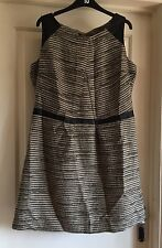 M&S Ltd Collection Stunning Dress With A Cut Out To The Back, Size 16 - Fab!