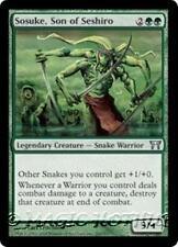 SOSUKE, SON OF SESHIRO Champions of Kamigawa MTG Green Creature — Snake Unc