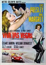 Viva Las Vegas Film Poster print A3