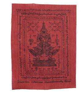 Yantra Yant Taw Waes Suwann Pha Tempio Da Thailandia IN tissus-Chance-6377