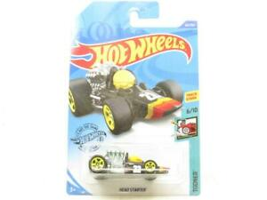 Hot Wheels Head Starter Tooned Black 60/250 Long Card 1 64 Scale Sealed New