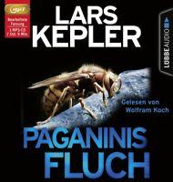 PAGANINIS FLUCH - KEPLER,LARS   MP3 CD NEW
