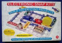 ELECTRONIC SNAP KITS * 101 BUILD 100 PROJECTS SCIENCE SET COMPLETE * RADIO SHACK