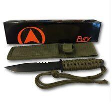 New! Glacier Bay Premium Tactical Knife, Cord Wrapped Handle, Razor Sharp Blade