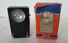 Daimon Vintage Army Signal Flashlight Torch in original box