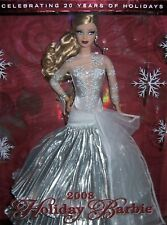 Rare - Barbie – Holiday Barbie Doll – 2008  - Collector Edition – New in Box