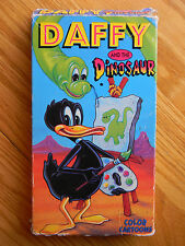 Daffy and the Dinosaur VHS Tape Cartoons Daffy Duck & Friends Porky Pig c991