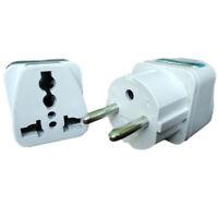1x US USA UK Australia to EU Euro Europe Power Plug Charger Converter Adapter