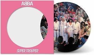 """Abba - Super Trouper - New 40th Anniversary 7"""" Pic Disc"""