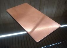 "1/8"" COPPER SHEET PLATE NEW 4""x8"" .125 THICK *CUSTOM 1/8 SIZES AVAILABLE*"