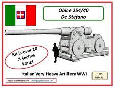 1/35 Ww1 Italian Obice 254/40 Ds Takom Blitz Tamiya