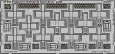 Eduard 1:35 Flakpanzer 38 Gepard Ammo Boxes for Italeri - PE Detail Set #36058