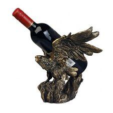 Weinflaschenhalter Adler bronze Farben Weinregal Tischdekoration Wein DECO174