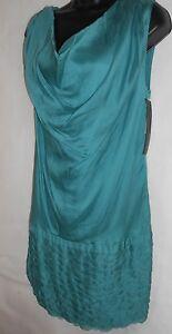 New Catherine Malandrino 100% silk dress UK8  RRP 600€