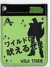 TIGER & BUNNY Pass Case Wild Tiger Japan Collectible Anime Manga Ita Bag itabag