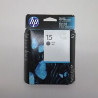 HP Black 15 Ink New Genuine C6615DN