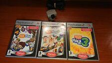 1215 Sony Playstation 2 EyeToy USB Camera + Games PS2 PAL