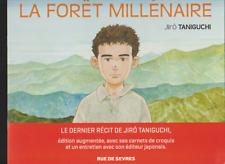 JIRO TANIGUCHI / LA FORET MILLENAIRE / DOSSIER DE PRESSE / 10 PAGES / TBE