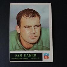 1965 Philadelphia SAM BAKER #128  Philadelphia Eagles  Oregon State Beavers