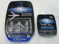 "G5 Havoc 2"" 100 Grain Broadheads and Havoc replacement trap bands combo"