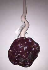 """10"""" Tall Ceramic Garden Mushroom on Spring Fairy Garden NEW w/Tag BM-2"""