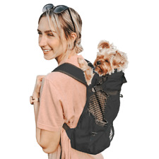 K9 Air 1 Sport Sack Pet DOG Backpack BLACK - L - Large