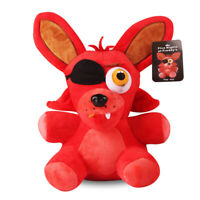 1PC Hot FNAF FOXY PIRATE Plush Toy Five Nights At Freddy's Doll Gift 18CM