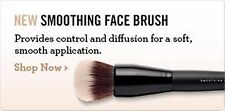 BAREMINERALS COMPLEXION RESCUE SMOOTHING FOUNDATION FACE BRUSH $28 BARE MINERALS