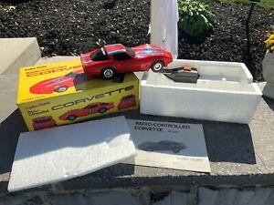 Radio Shack Corvette Radio Control RC CAR w/Box No. 60-3082