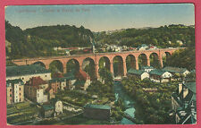 CPA-LUXEMBOURG Clausen et viaduc nord