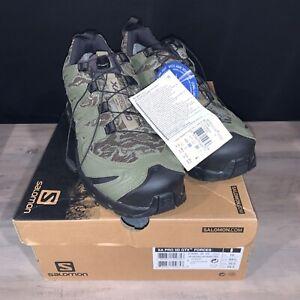 Salomon Size US 10.5 XA PRO 3D GTX Forces Tactical Boots Camo/Green 373489 36