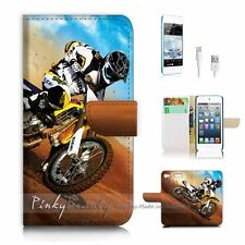 ( For iPod 6 / itouch 6 ) Flip Case Cover! P0043 Motorcycle