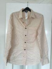 Mens DOLCE & GABBANA D&G Pink Striped Long Sleeved Designer Shirt Medium #A3212