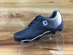 FootJoy DNA Helix Mens Black Golf Shoes 53318 Mens Size 8.5 Excellent