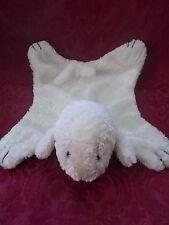 Baby Lovey Lamb Blanket Plush Toy Children Nappy Sheep White