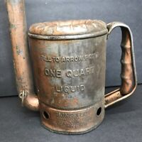Vintage Swingspout Measure Co. One Quart Vintage Oil Can Made In USA 44 MINN