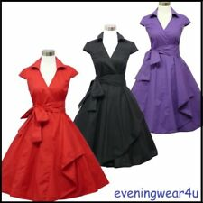 Party Wrap Dresses for Women with Cap Sleeve