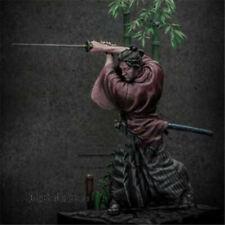 1/24 75mm Sword of Wind Japan Samurai Model Kits Figurine Unpainted Warrior GK