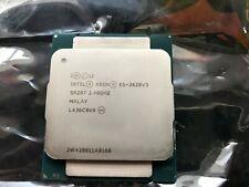 6-Core Intel Xeon E5-2620 V3 SR207 2.40GHz - 3.2GHz Turbo Six Core LGA2011-3 CPU