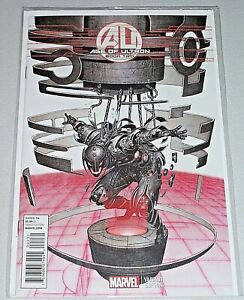 Age Of Ultron #2! (2013) Rare Rock-He Kim 1-in-25 Variant! VF!