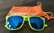 W11. Kids Superdry Bright Yellow & Blue Tinted Lenses Sunglasses