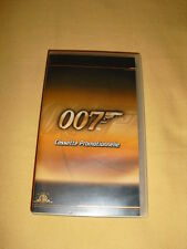 JAMES BOND 007 Cassette Promotionnelle VHS