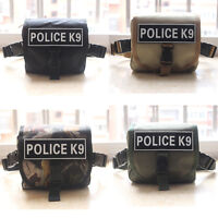 Tactical Military Dog Harness Side Bag Tool Bag Medical First Aid Molle Pouch