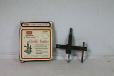"Sears Craftsman 9-3645 Circle Cutter 7/8"" to 4"" Box Euc"