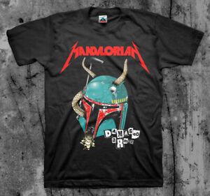 MANDALORIAN 'Damaged Armor' T shirt (Mashup, Disney, Star Wars)