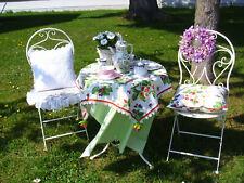 Bistro-Set Tisch & 2 Klappstühle Stuhl Stühle Metallstuhl Balkon Terasse Garten