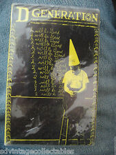 D Generation CASSETTE Punk Rock No Lunch DEMO SEALED Promo Frankie gift NEW