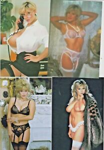 4 6x4 pictures of model singer samantha fox