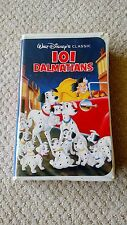 Walt Disney's Classic 101 Dalmatians VHS Black Diamond