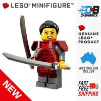 Genuine LEGO Minifigure - Samurai, Series 13 Minifigures, #12 - NEW